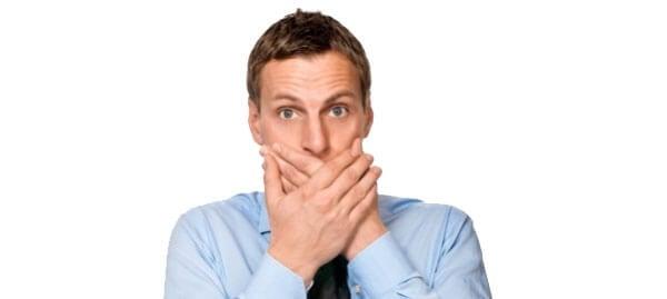 Mundspülung bei Mundgeruch