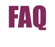 FAQ Häufige Fragen